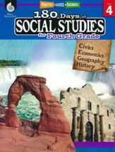 180 Days of Social Studies for  Fourth Grade