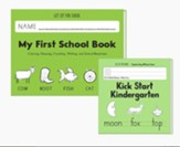 Transition to Kindergarten Set (My  First School Book & Kick Start Kindergarten)