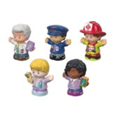 Little People, Community Helpers, 5 Pieces