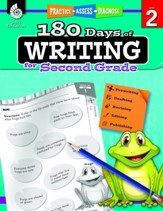180 Days of Writing for Second Grade  (Grade 2)