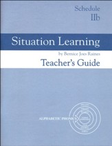 Situation Learning Schedule 2B  Teacher's Guide