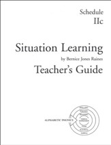 Situation Learning Schedule 2C  Teacher's Guide