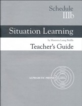 Situation Learning Schedule 3B  Teacher's Guide