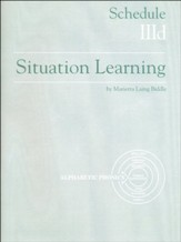 Situation Learning Schedule 3D  Student's Study Book