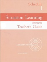 Situation Learning Schedule 1  Teacher's Guide
