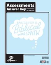 BJU Press Bible Grade 6 Assessments Answer Key: Basics for a  Biblical Worldview