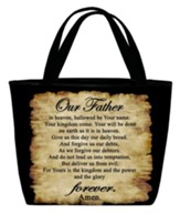 Lord's Prayer Tote Bag