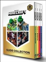 Minecraft Guide Collection: Exploration, Creative, Redstone, The Nether & the End, 4 Volume Boxed Set