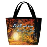 Psalms 46:10 Totebag