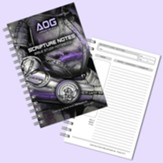 Armor of God Scripture Notes Bible Study Notebook, Violet and Black