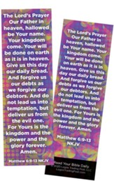 The Lord's Prayer, Matthew 6:9-13 Bookmarks, Pack of 25