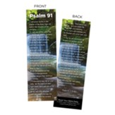 Psalm 91, The Lord is My Refuge, Bookmarks, Pack of 50