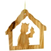 Holy Land Olive Wood Wise King Ornament