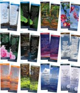 Bible Verse Bookmarks Variety Pack of 60, Assortment 8