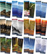 Bible Verse Bookmarks Variety Pack of 60, Assortment 10