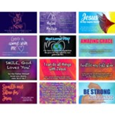 Children's Pass Along Pocket Scripture Card Variety Pack of 60, Assortment 5