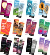Children's Memory Verse Bookmarks, Variety Pack of 60, Assortment 1