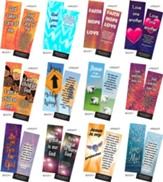 Children's Memory Verse Bookmarks, Variety Pack of 60, Assortment 6