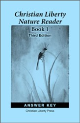 Christian Liberty Nature Reader: Book 1 Answer Key  (3rd Edition)