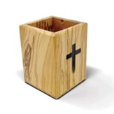 Holy Land Olive Wood Pencil Box