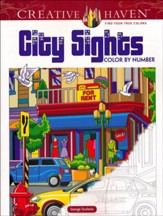 City Sights Color By Number
