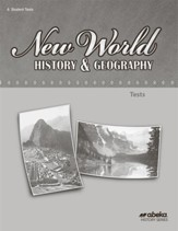 New World History and Geography (Grade 6) Test Book (Unbound Edition)