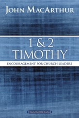 1 and 2 Timothy: Encouragement for Church Leaders - eBook