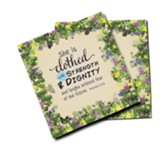 Strength And Dignity, Mini Carpet Coasters, Pack of 2