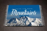 Faith Can Move Mountains Carpet Mouse Pad, Large