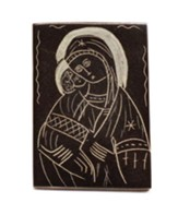 Mary With Infant Jesus, The Eleusa Magnet