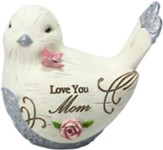 Love You Mom Bird Figurine