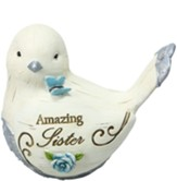 Amazing Sister Bird Figurine