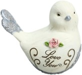 Love You Bird Figurine