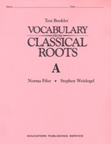 Vocabulary from Classical Roots Book  A (Homeschool Edition)