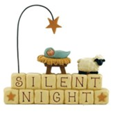 Silent Night, Baby Jesus--Block Figurine