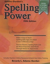 Spelling Power, Fourth Edition  - Slightly Imperfect