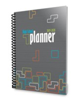 A Well-Planned Day High School 1 Year Planner Tumbling  Tetrominoes (July 2019 - June 2020)