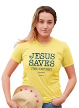 True Story Shirt, Spring Yellow, Small