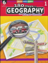 180 Days of Geography for First  Grade