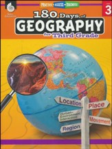 180 Days of Geography for Third  Grade