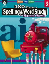 180 Days of Spelling & Word Study  for Second Grade  (Grade 2)