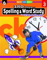 180 Days of Spelling & Word Study  for Third Grade (Grade Level 3)