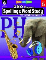 180 Days of Spelling & Word Study for Fifth Grade (Grade Level 5)