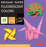 Origami Paper Fluorescent with 8 page booklet