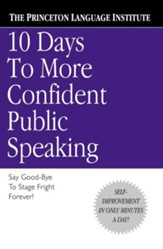 10 Days to More Confident Public Speaking - eBook