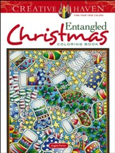 Entangled Christmas Coloring Book