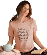 All Together Shirt, Dusty Rose, Large