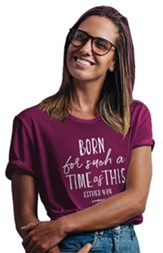 Such A Time Shirt, Berry, Medium