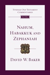 Nahum, Habakkuk, Zephaniah - eBook