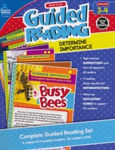 Ready to Go Guided Reading:  Determine Importance, Grades 3 & 4